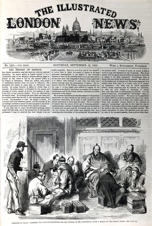イラストレイテッド・ロンドン・ニュース』第43巻(1863年6月から12月 ...